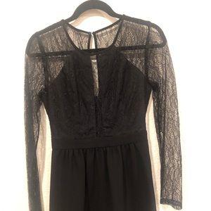 Bcbg generation lace trim dress